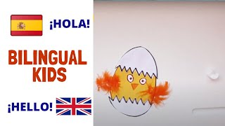 Manualidades Español e Inglés/ Bilingual Spanish and English arts and crafts/Learn Spanish for kids