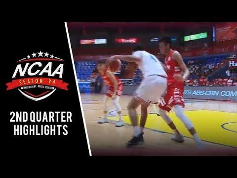NCAA 94 MB: EAC vs. SBU  | 2nd Quarter Highlights | July 31, 2018
