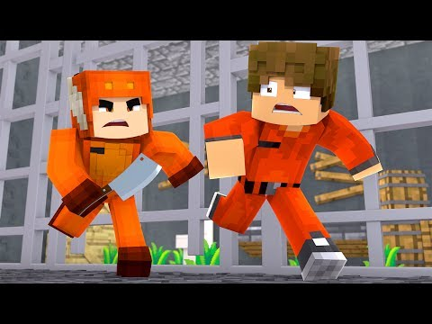 MOOSECRAFT IS CRAZY! - Parkside Prison The Movie - (Minecraft Roleplay) Part 2/6