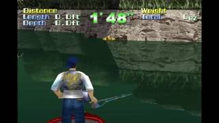 Game 15 - Action Bass - Sony PlayStation - Gameplay footage - ePSXe - 1080p