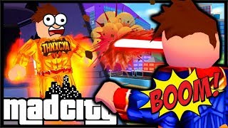 How To Get SUPER HERO POWER As A Criminal   Mad City Roblox