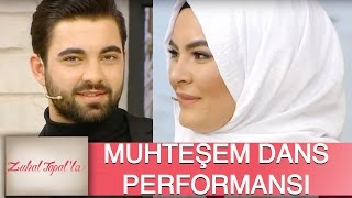 Zuhal Topal'la 113. Bölüm (HD)   Hanife ve Serkan'dan Muhteşem Dans Performansı...