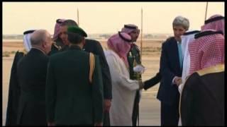 Raw: Obama Arrives in Saudi Arabia