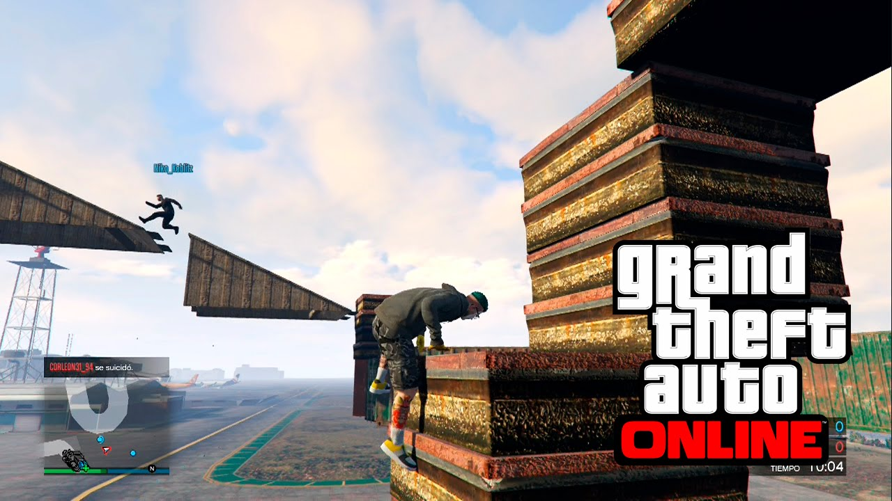 how to join parkour in gta 5