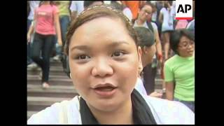 Annual Oblation run by naked students at University of Philippines