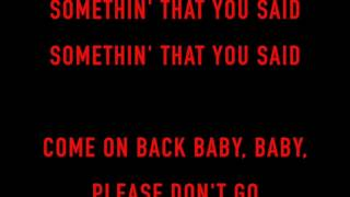 The Rolling Stones - Hate To See You Go [HD Song Lyrics]