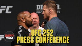 UFC 252 Press Conference | ESPN MMA