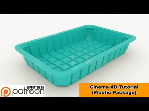 Plastic Package (Cinema 4D - Tutorial)