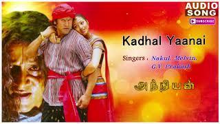 Kadhal Yaanai Song | Anniyan | Shankar Movie | Anniyan songs | Vikram songs | Harris Jayaraj hits