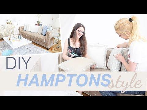 Hamptons Interior Look DIY Pure Velvet Styling Tipps, FMA Interior Design, Room Tour