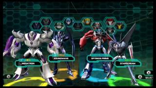 Transformers Prime The Game Wii U Multiplayer part 1