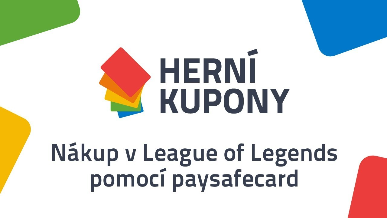League Of Legends Paysafecard
