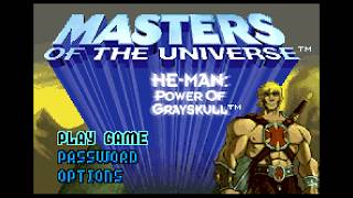Masters of the Universe - He-Man: Power of Grayskull (GBA)