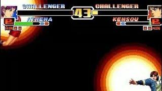 [TAS] Athena VS Kensou (KoF '99)