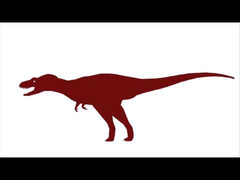 Albertosaurus roar test