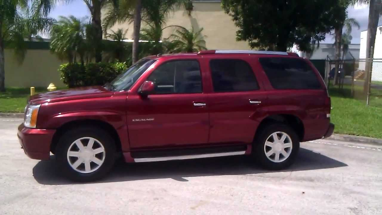 For sale 2002 cadillac escalade awd www southeastcarsales net youtube