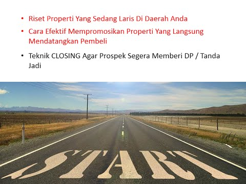 Part 1 - Belajar Marketing Online Properti