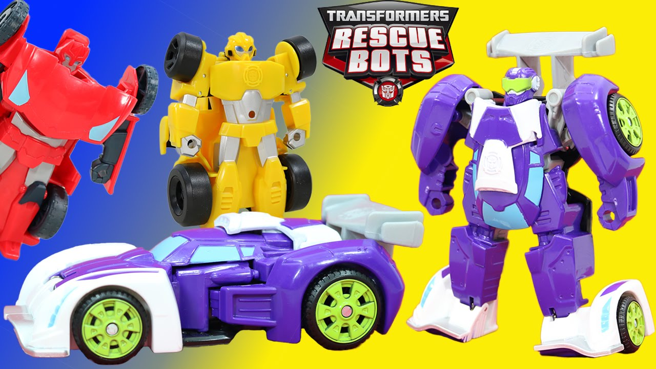 Transformers Rescue Bots Blurr Has A Big Rescue With