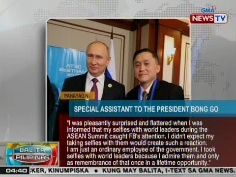 BP: Special Assistant to the President Bong Go, trending worldwide