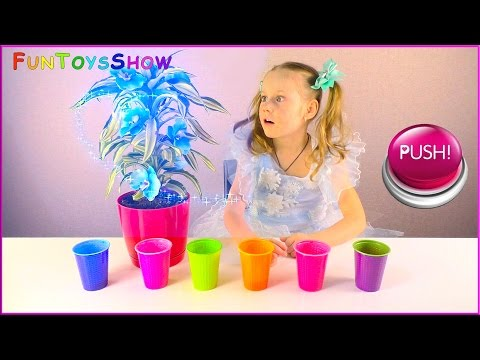 Thumbnail: Learn Colors with Colorful Flowers for Children, Toddlers and Babies - Kid Learn Colours