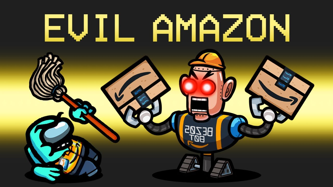 Download *EVIL* AMAZON Imposter Mod in Among Us