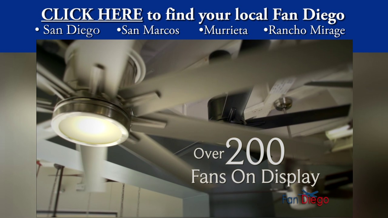 Fan diego your local ceiling fan and lighting store youtube fan diego your local ceiling fan and lighting store aloadofball Image collections