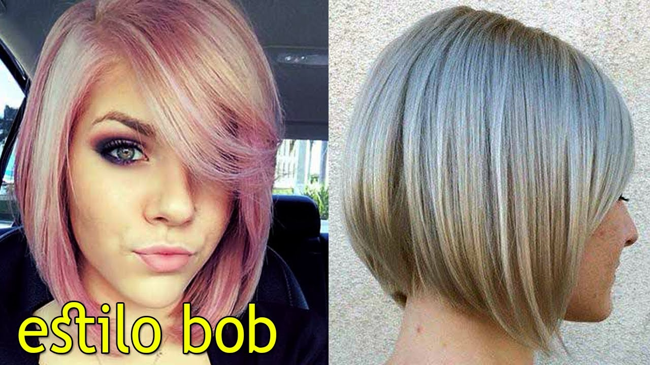 Corte de cabello mujer estilo bob