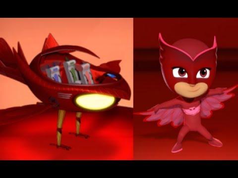 PJ Masks Hero Training - Disney Junior The Characters Owlette - Training Game For Kids  