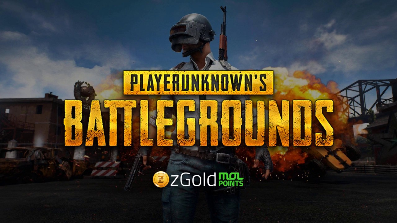 Now Available via zGold-MOLPoints: PUBG Mobile