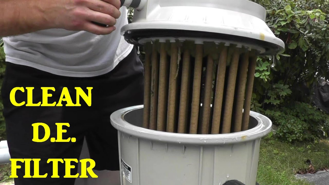 How To Clean A D E Pool Filter
