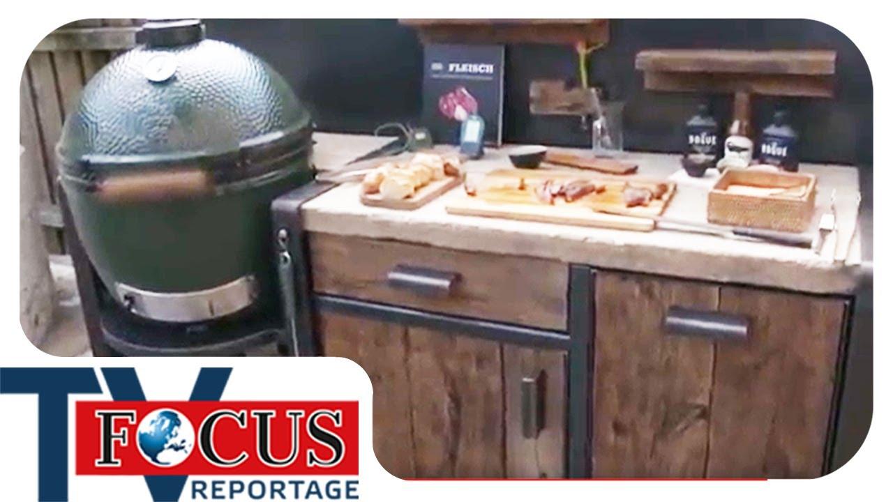 Der Traum von der Outdoorküche: Luxusgrill statt Strandurlaub | Focus TV Reportage