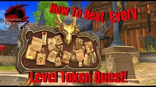 AQ3D How To Get Level Tokens FAST! AdventureQuest 3D