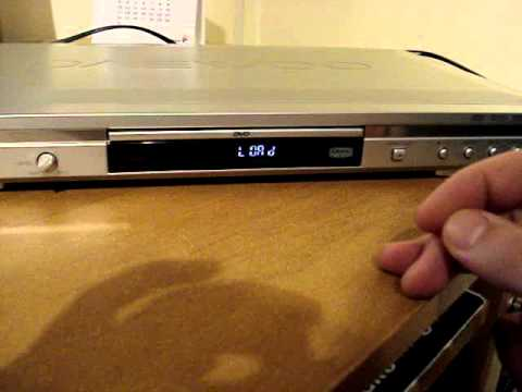DVD Player DAEWOO DV-700S - YouTube