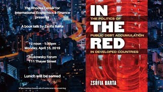 In The Red: The Politics of Public Debt Accumulation in Developed Countries