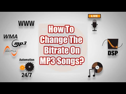 SAM Broadcaster-How To Change Bitrates on MP3s - A SAM Broadcaster Tutorial