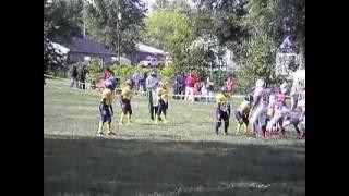 Hit so hard make the crowd say WOOOOO! #1 Rashad DeBose 2012 85lb Midwest Bearcats