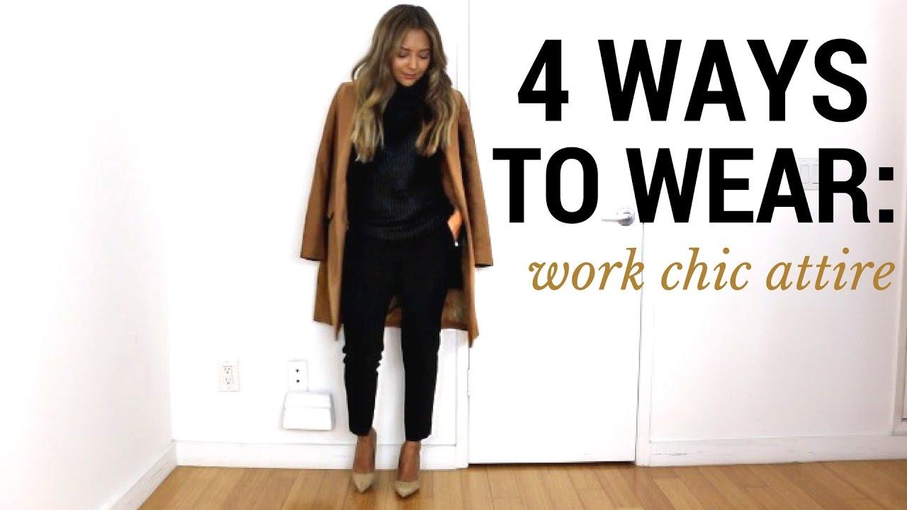 4 Ways To Wear Work Chic