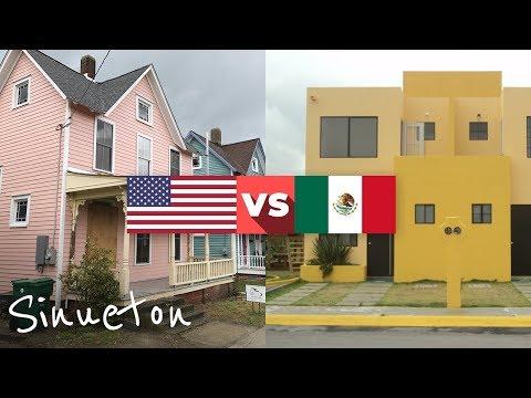 Por qué las casas en México no son como en EUA - Sinueton