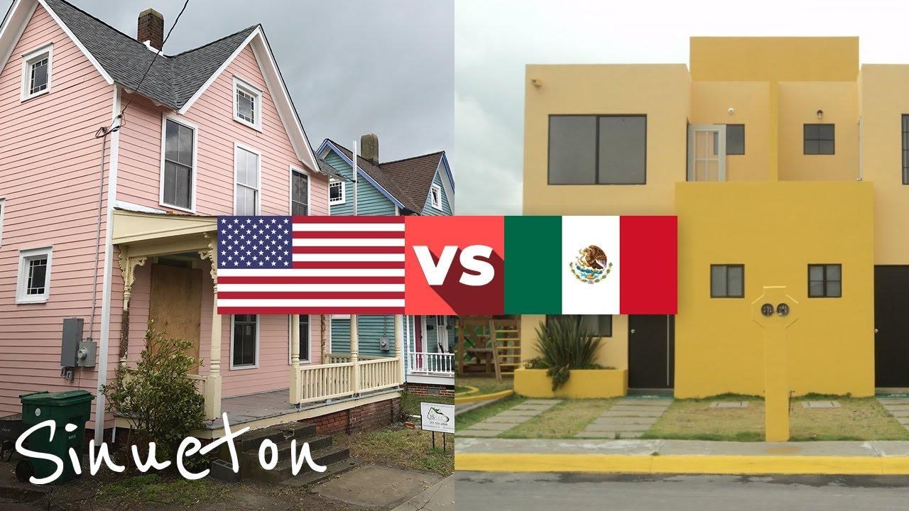 Por Que Las Casas En Mexico No Son Como En Eua Sinueton Youtube