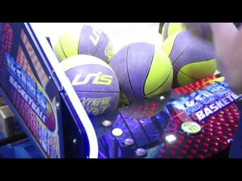 Electric 65 inch LCD Screen Basketball Arcade Ticket Redemption Game machine