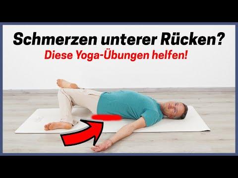 Yoga gegen Rückenschmerzen (Teil 2) ✅ Yoga Übungen unterer Rücken ...