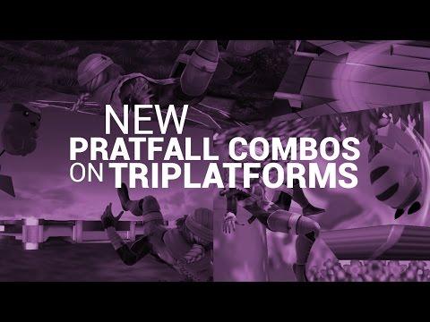 Pikachu's NEW Pratfall Combos on Tri-Platform Stages!