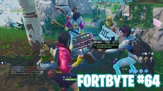 Fortnite Battle Royale ? Fortbyte Challenges How to get the Fortbyte #64