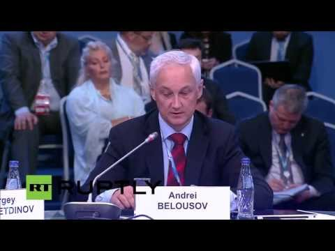 LIVE: Last day of St. Petersburg International Economic Forum