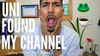 One of Ibz Mo's most viewed videos: MY UNI FOUND MY CHANNEL | Spilling The Tea On My Degree