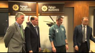 Defence Forces Soccer Team receive International Caps at FAI Headquarters