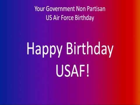 Happy Birthday United States Air Force!