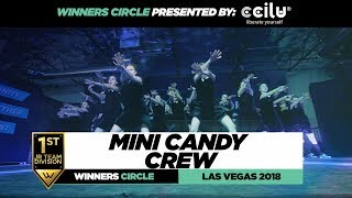 Mini Candy Crew | 1st Place Jr Team | Winners Circle | World of Dance Las Vegas 2018 | #WODVEGAS18