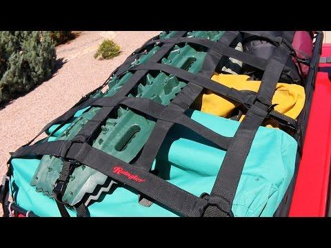 Raingler Cargo Net For Roof Rack Youtube
