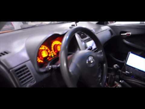 Чип Тюнинг от СТО SUN Сервис в Новосибирске. Toyota Corolla стала быстрее на 7 сек до 100 км ч.